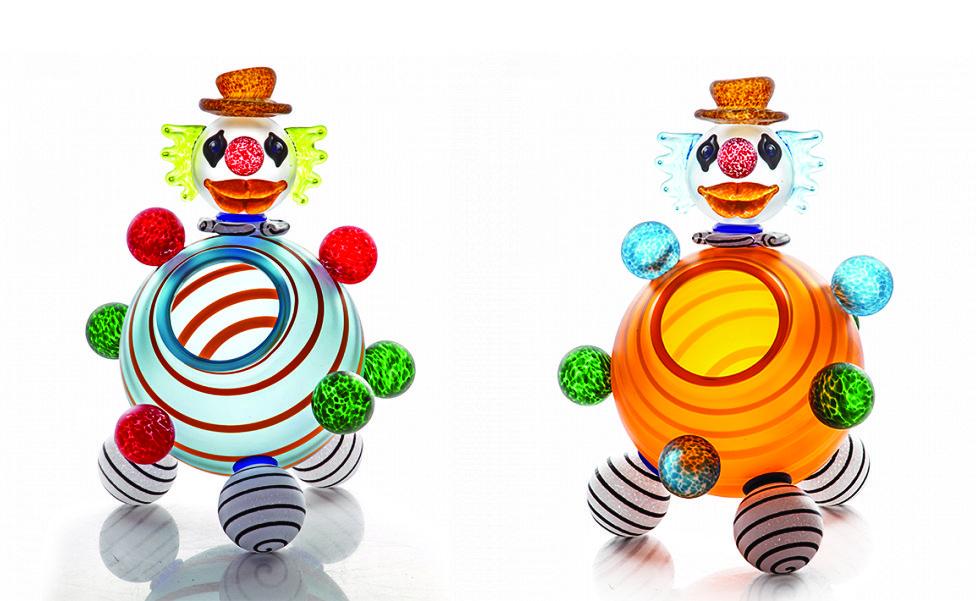 Clown Bowl | Borowski | Sculpture-Exposures International Gallery of Fine Art - Sedona AZ