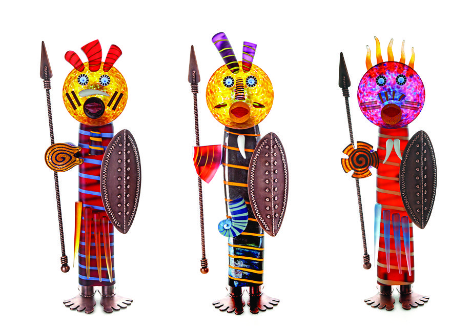 Massai   Borowski   Sculpture-Exposures International Gallery of Fine Art - Sedona AZ