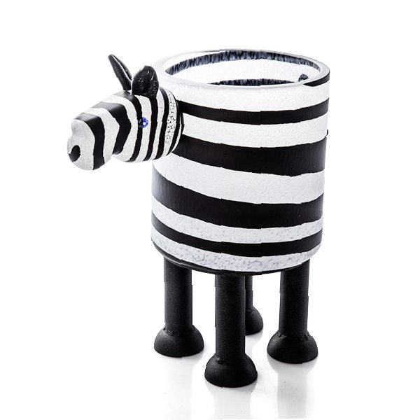 Zebra | Borowski | Sculpture-Exposures International Gallery of Fine Art - Sedona AZ