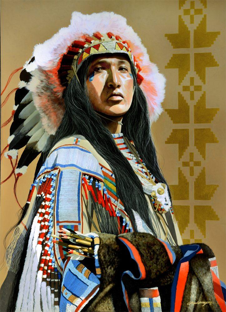 Chiefs Society | Jd Challenger | Painting-Exposures International Gallery of Fine Art - Sedona AZ