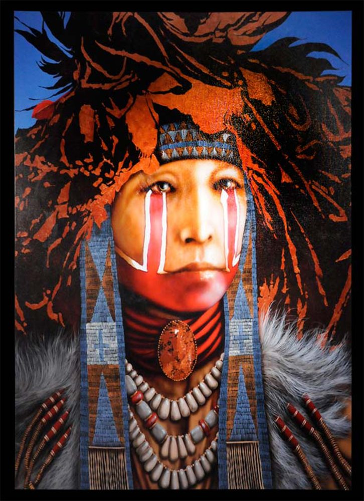 Yellow Eagle's Dance | Jd Challenger | Painting-Exposures International Gallery of Fine Art - Sedona AZ