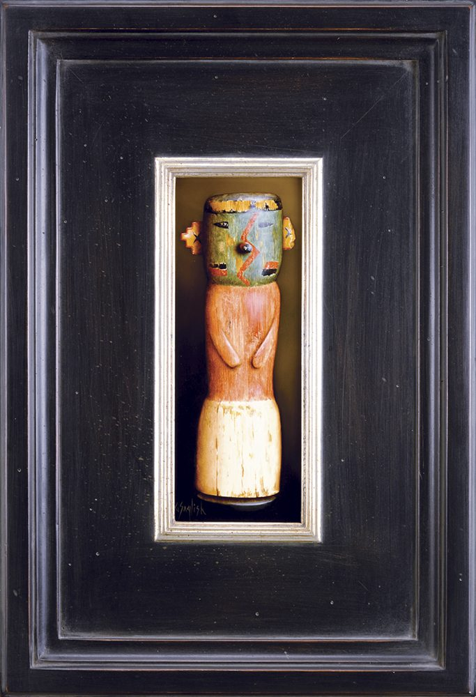 Acoma Doll II | Greg English | Painting-Exposures International Gallery of Fine Art - Sedona AZ