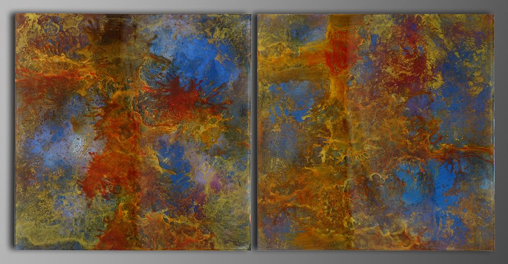 Soul Mates Diptych | Eric Lee | Painting-Exposures International Gallery of Fine Art - Sedona AZ