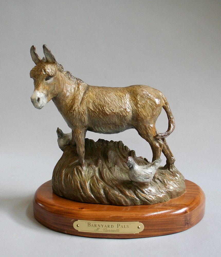 Barnyard Pals | Marianne Caroselli | Sculpture-Exposures International Gallery of Fine Art - Sedona AZ