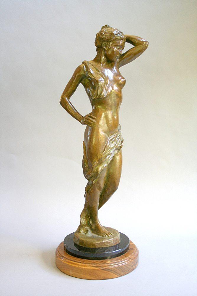 Bella Mia | Marianne Caroselli | Sculpture-Exposures International Gallery of Fine Art - Sedona AZ