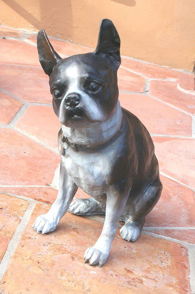 Boston Terrier | Marianne Caroselli | Sculpture-Exposures International Gallery of Fine Art - Sedona AZ