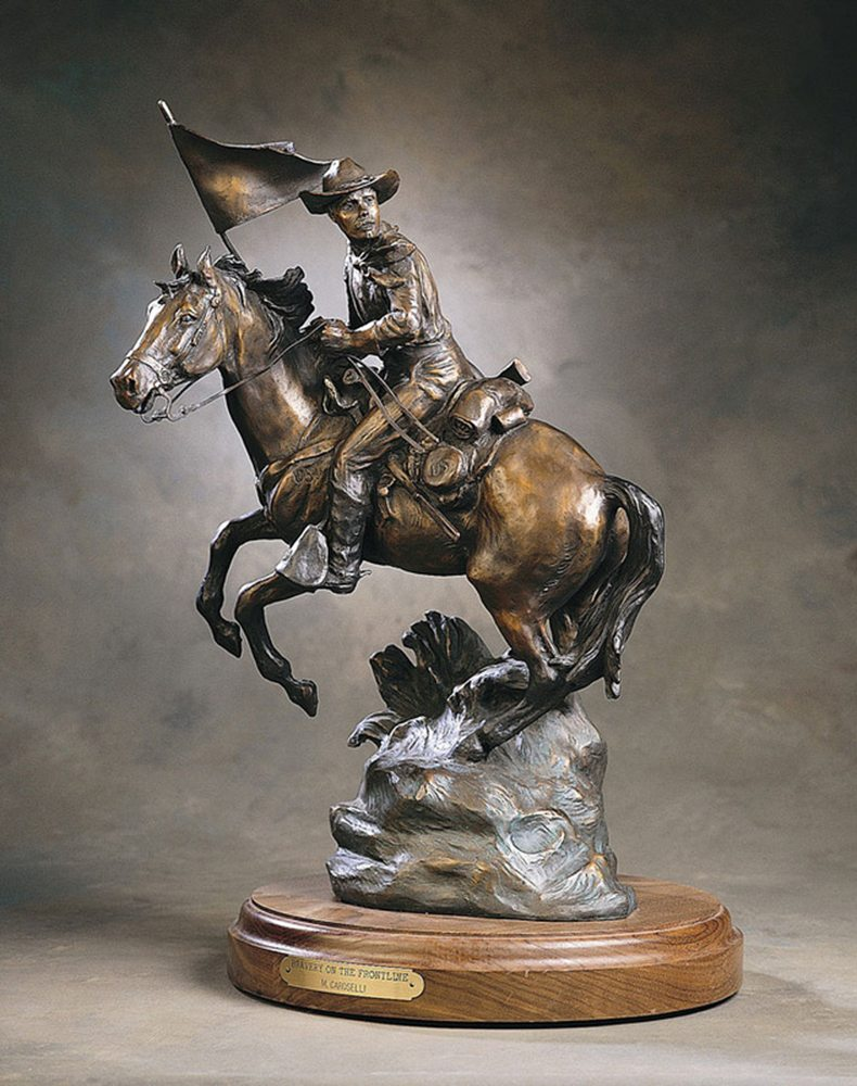 Bravery on the Frontline | Marianne Caroselli | Sculpture-Exposures International Gallery of Fine Art - Sedona AZ