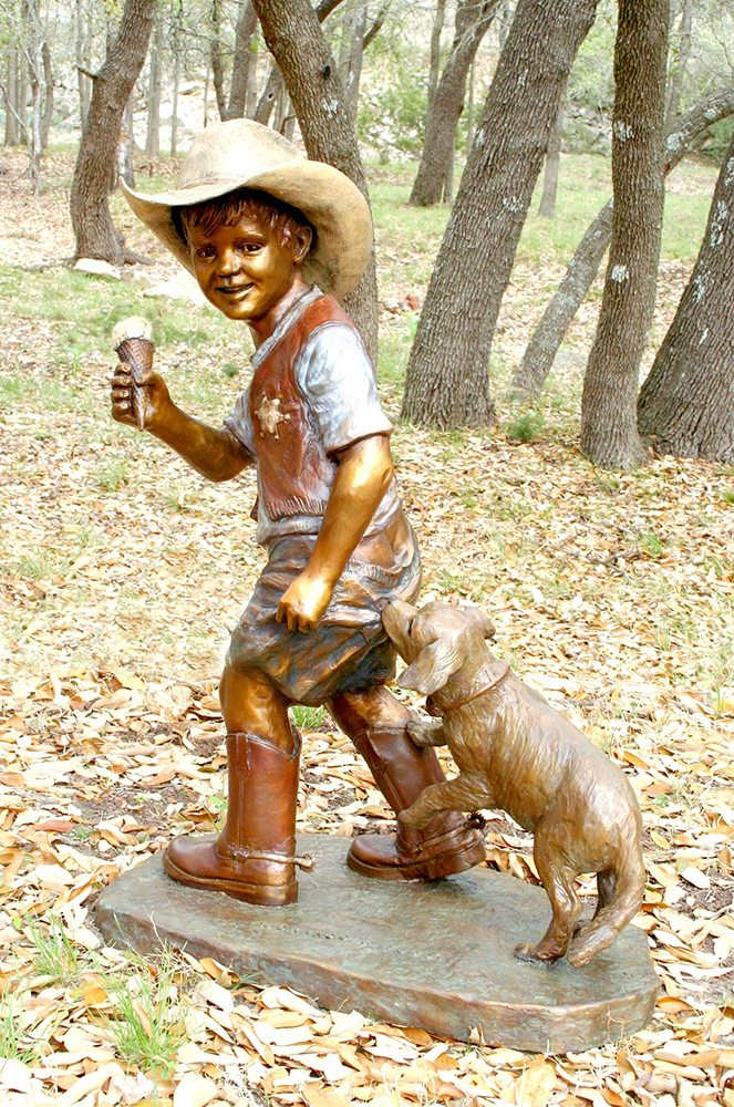 Buckaroo & Buddy | Marianne Caroselli | Sculpture-Exposures International Gallery of Fine Art - Sedona AZ
