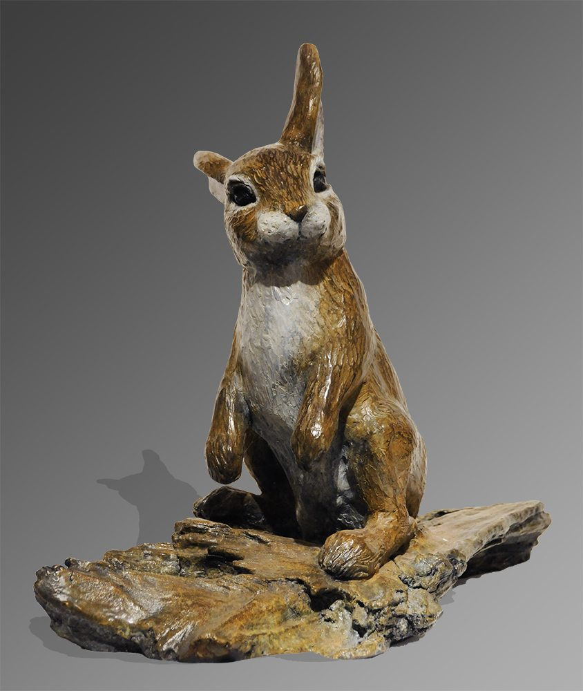 Bunny | Marianne Caroselli | Sculpture-Exposures International Gallery of Fine Art - Sedona AZ