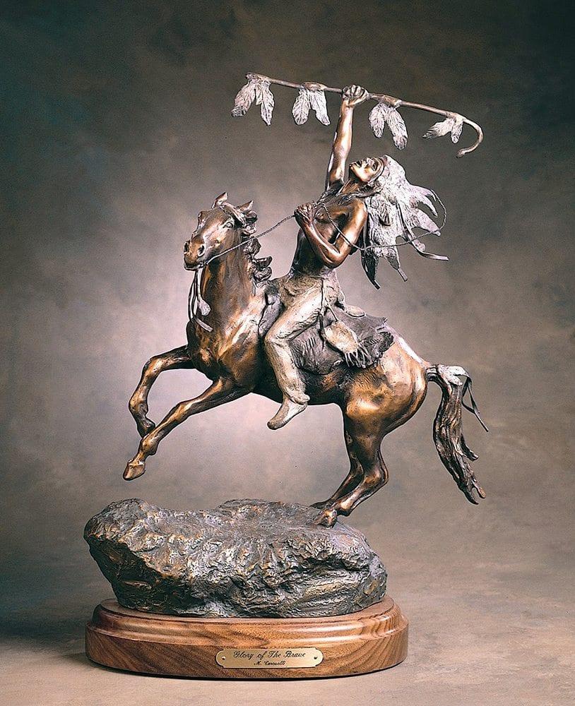 Glory of the Brave | Marianne Caroselli | Sculpture-Exposures International Gallery of Fine Art - Sedona AZ