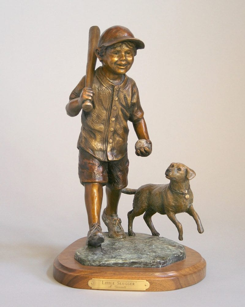 Little Slugger | Marianne Caroselli | Sculpture-Exposures International Gallery of Fine Art - Sedona AZ