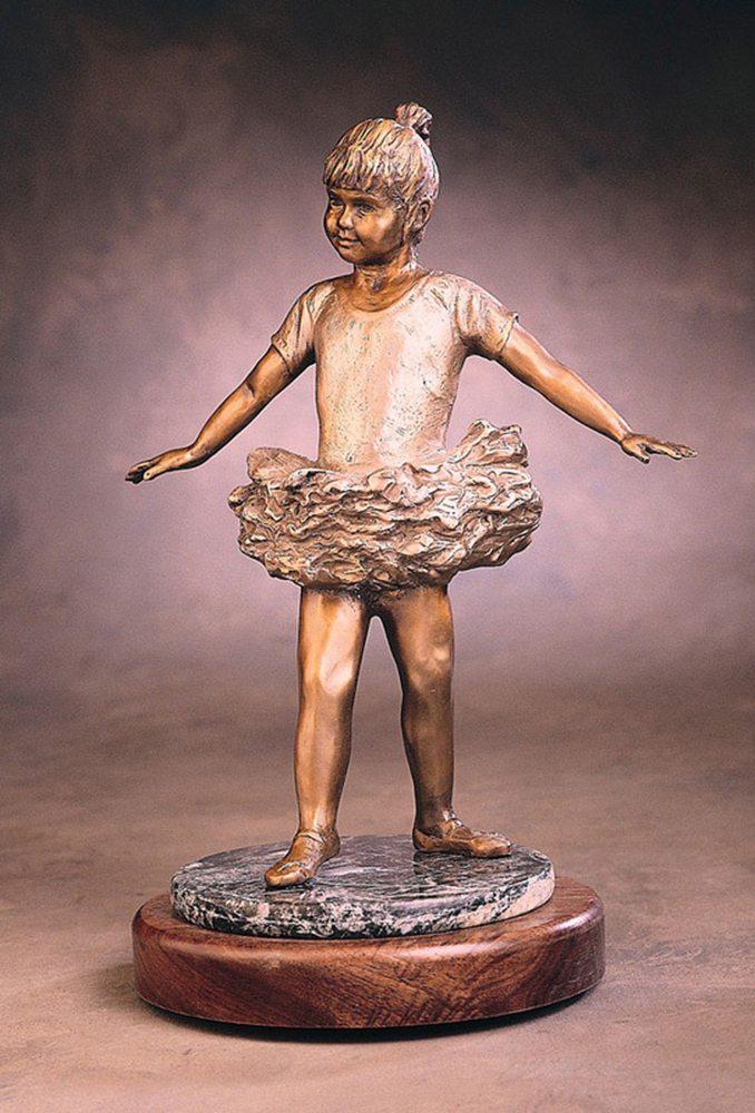 My Little Ballerina | Marianne Caroselli | Sculpture-Exposures International Gallery of Fine Art - Sedona AZ