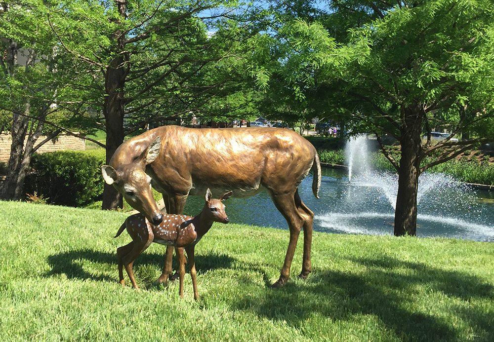 Nature's Gift (Life Size) | Marianne Caroselli | Sculpture-Exposures International Gallery of Fine Art - Sedona AZ