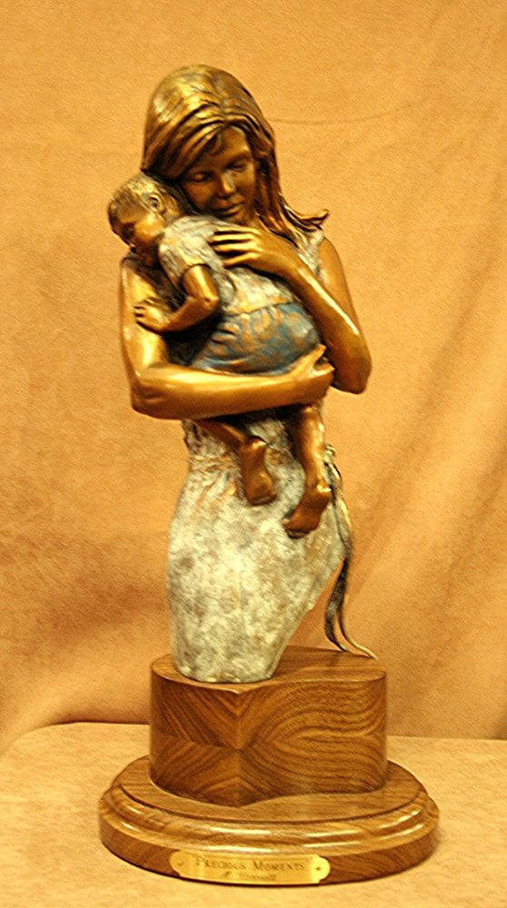 Precious Moments | Marianne Caroselli | Sculpture-Exposures International Gallery of Fine Art - Sedona AZ