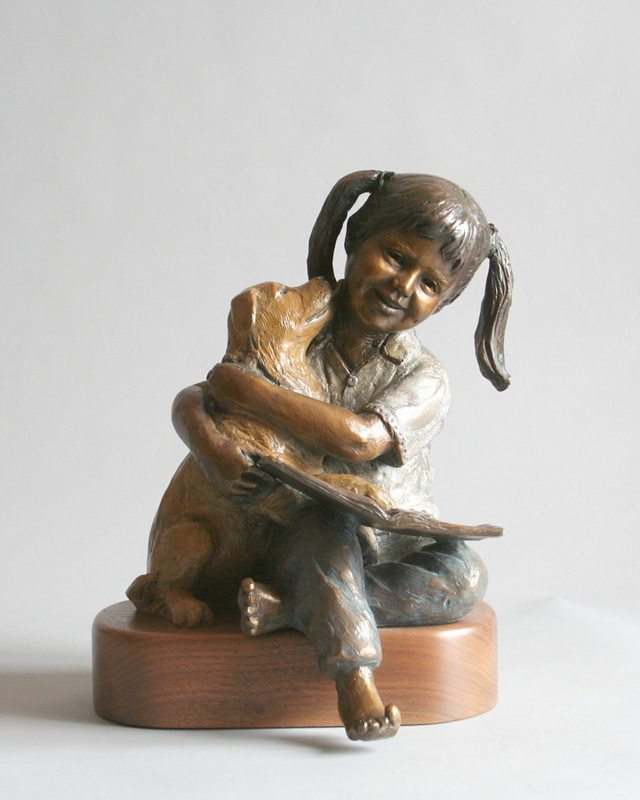 Story Tales and Kisses | Marianne Caroselli | Sculpture-Exposures International Gallery of Fine Art - Sedona AZ