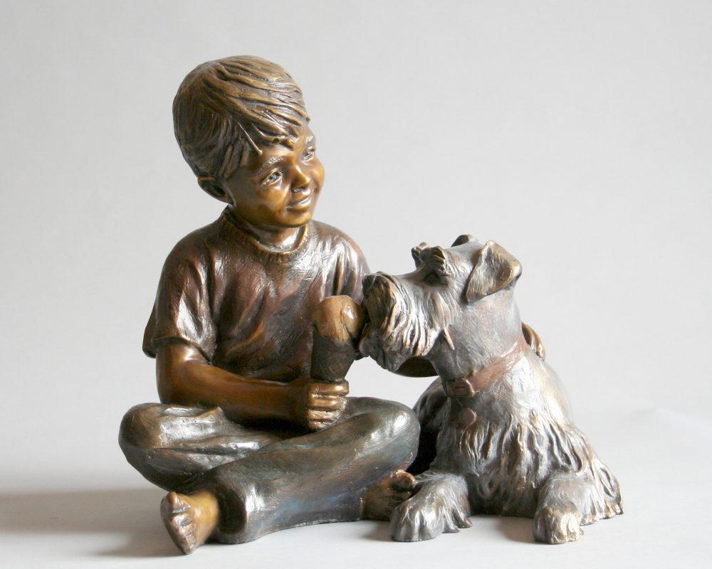 Takin Turns | Marianne Caroselli | Sculpture-Exposures International Gallery of Fine Art - Sedona AZ
