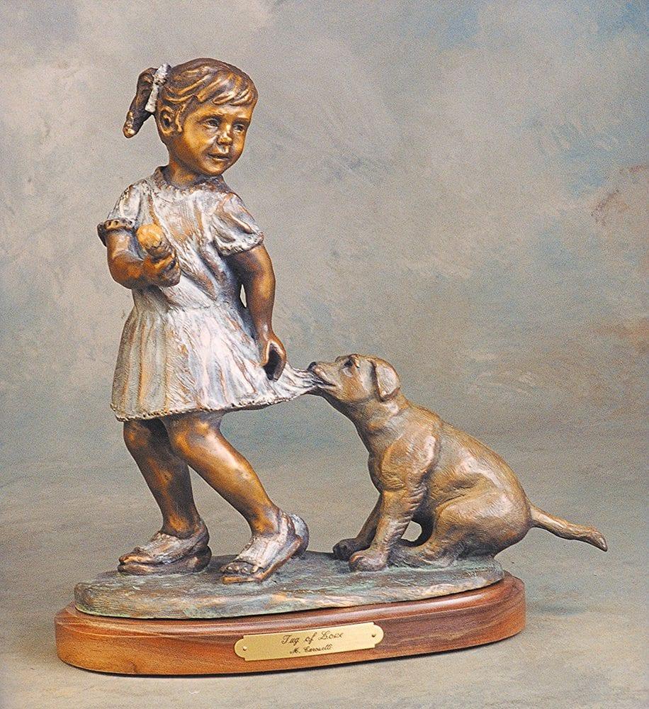 Tug of Love | Marianne Caroselli | Sculpture-Exposures International Gallery of Fine Art - Sedona AZ