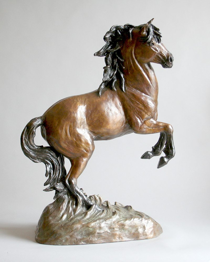 Untamed Beauty | Marianne Caroselli | Sculpture-Exposures International Gallery of Fine Art - Sedona AZ