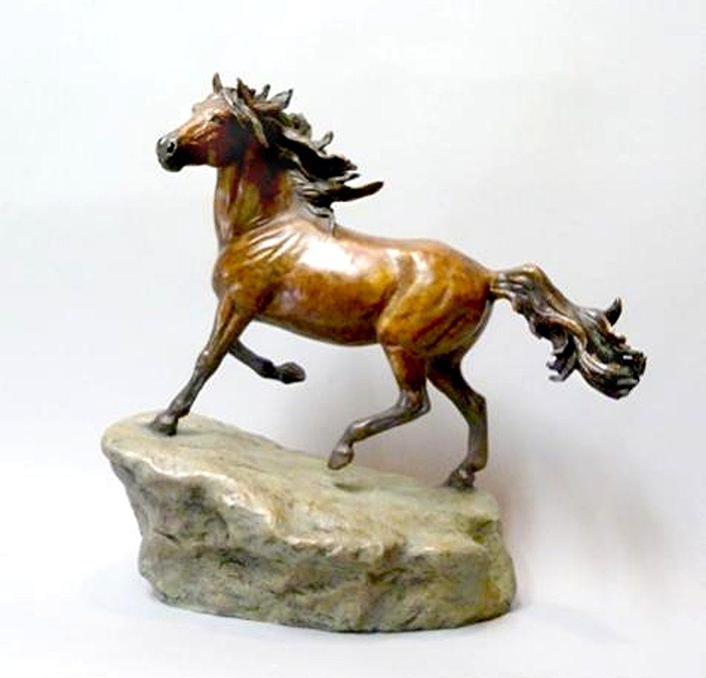 Wild Spirit | Marianne Caroselli | Sculpture-Exposures International Gallery of Fine Art - Sedona AZ