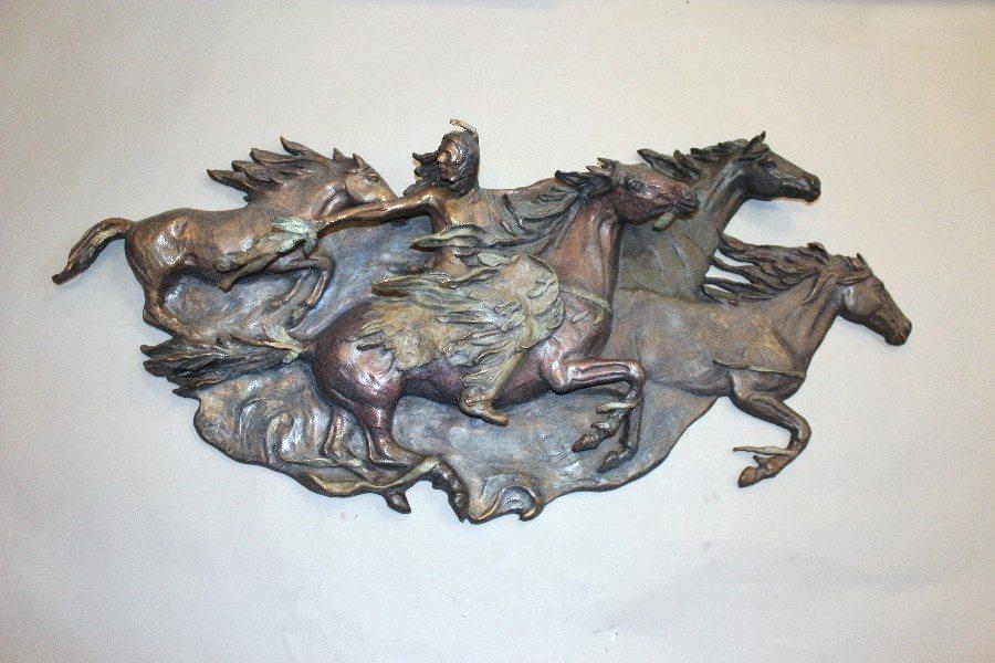 Wind Spirits Relief | Marianne Caroselli | Sculpture-Exposures International Gallery of Fine Art - Sedona AZ