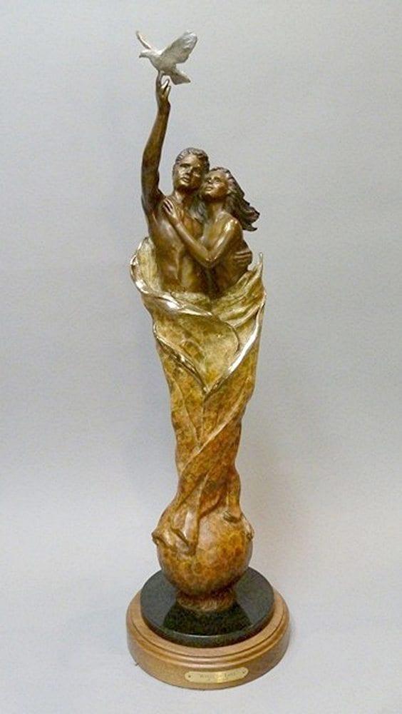 Wings of Love | Marianne Caroselli | Sculpture-Exposures International Gallery of Fine Art - Sedona AZ