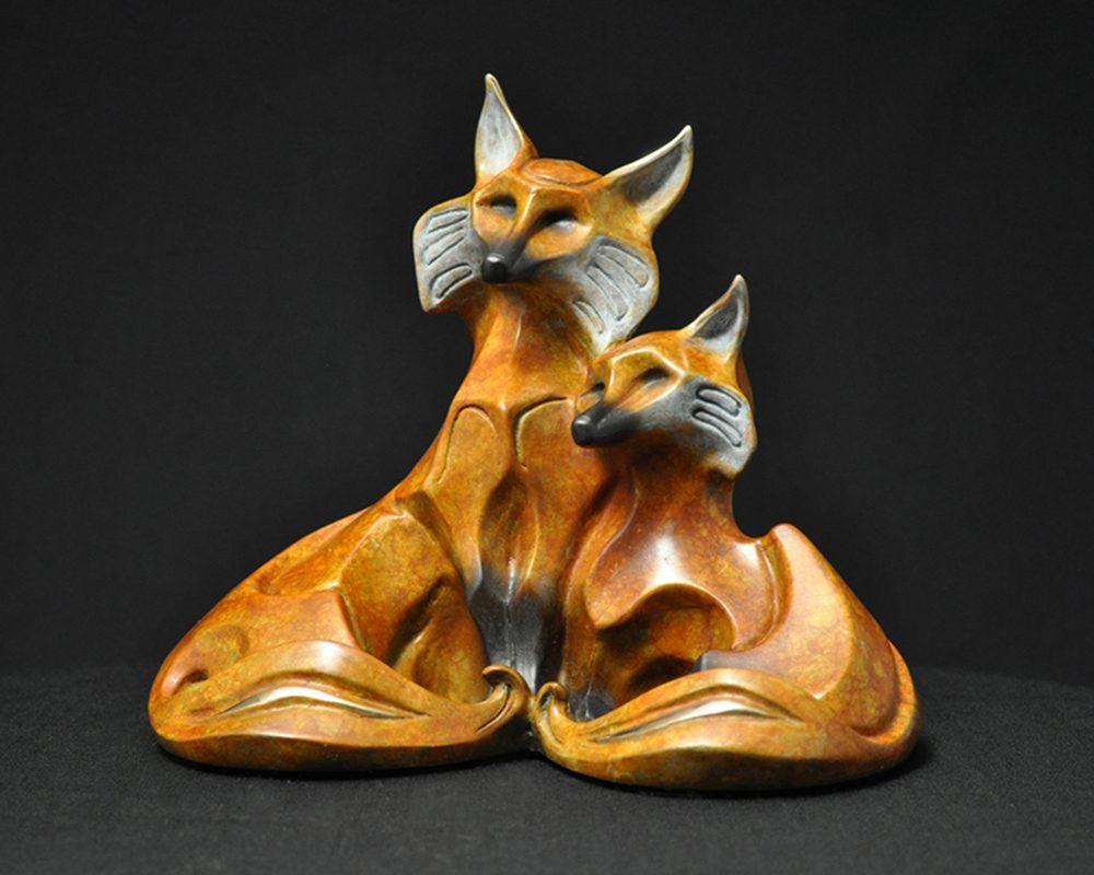 Hearts Entwined | John Maisano | Sculpture-Exposures International Gallery of Fine Art - Sedona AZ
