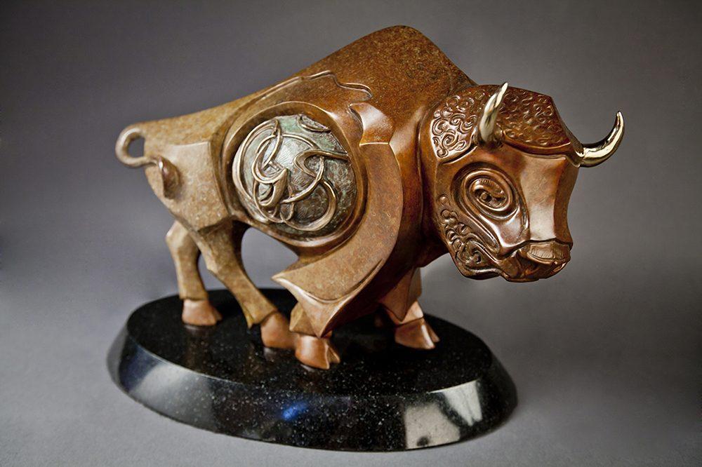 High Plains Drifter   John Maisano   Sculpture-Exposures International Gallery of Fine Art - Sedona AZ