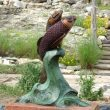 Koi Meets Girl Fountain | John Maisano | Sculpture-Exposures International Gallery of Fine Art - Sedona AZ