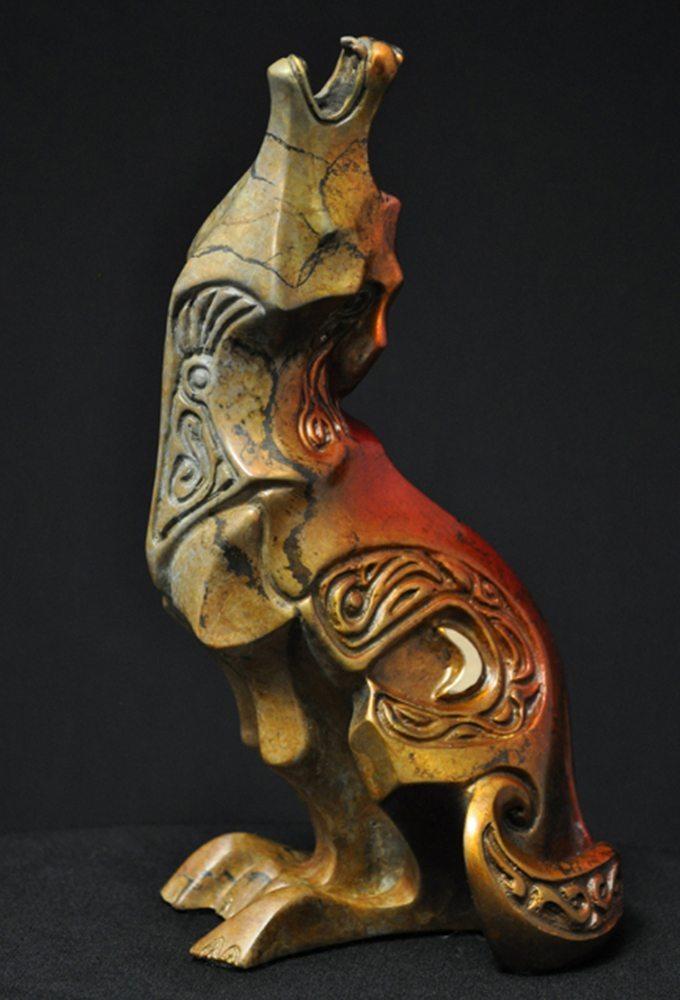 Night Song Maquette | John Maisano | Sculpture-Exposures International Gallery of Fine Art - Sedona AZ