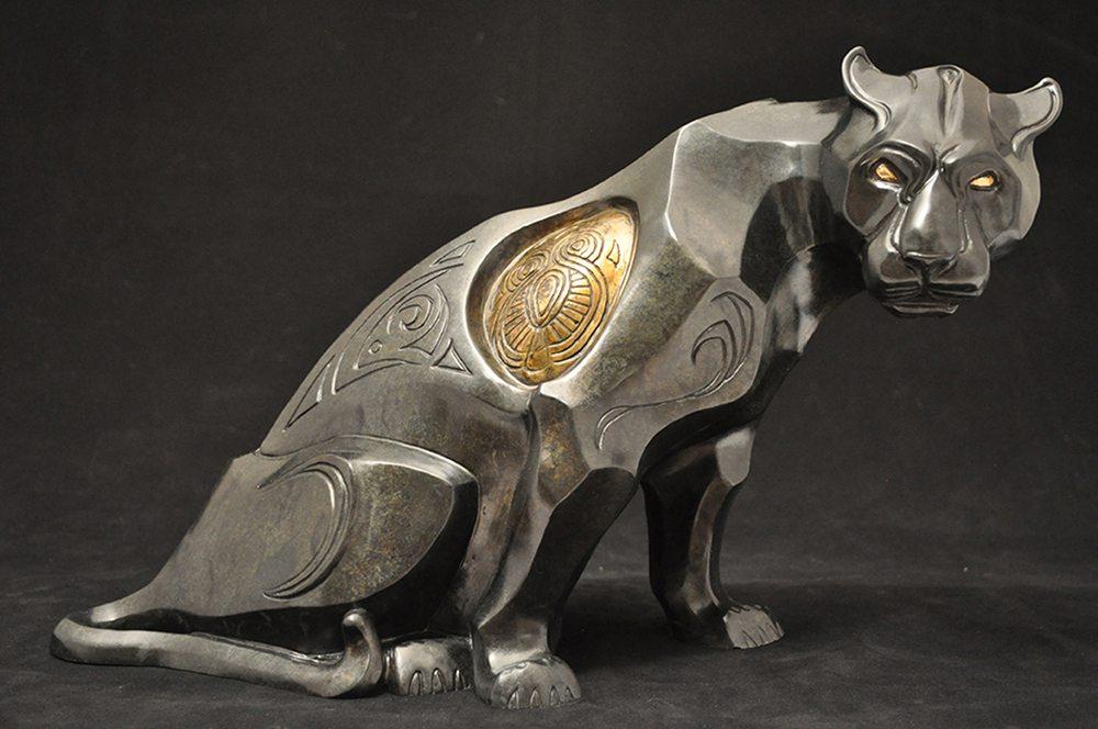 Night Vision   John Maisano   Sculpture-Exposures International Gallery of Fine Art - Sedona AZ