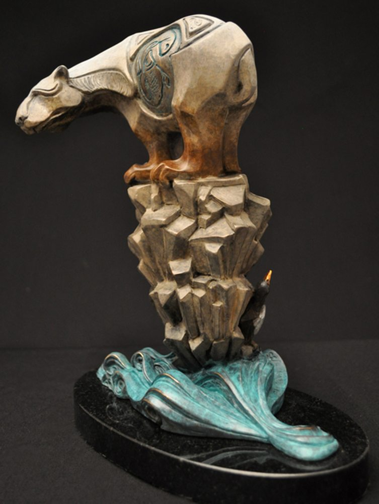 Polar Opposites | John Maisano | Sculpture-Exposures International Gallery of Fine Art - Sedona AZ