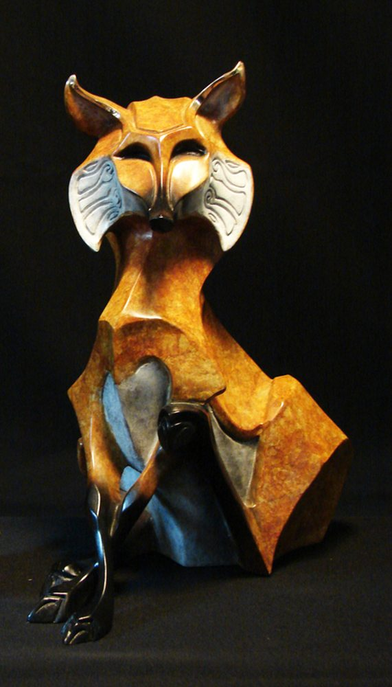 Roxy II | John Maisano | Sculpture-Exposures International Gallery of Fine Art - Sedona AZ