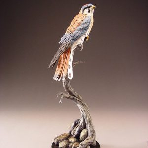 Ridgeline Kestrel | Eugene Morelli | Sculpture-Exposures International Gallery of Fine Art - Sedona AZ