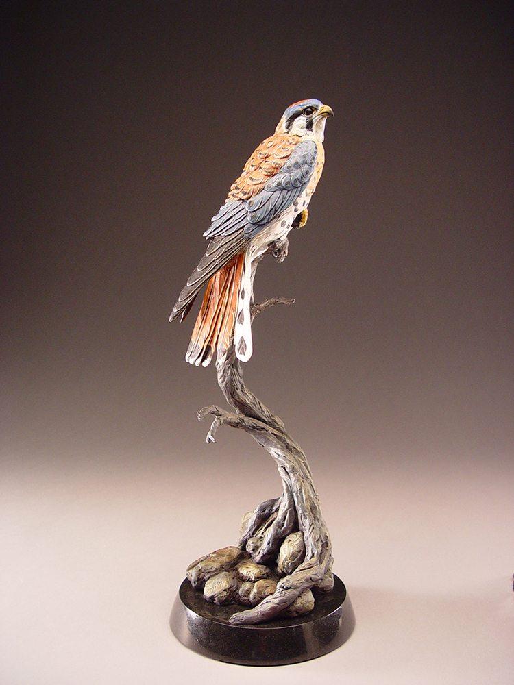 Ridgeline Kestrel | Eugene Morelli | Sculpture-Exposures International Gallery of Fine Art - Sedona AZ