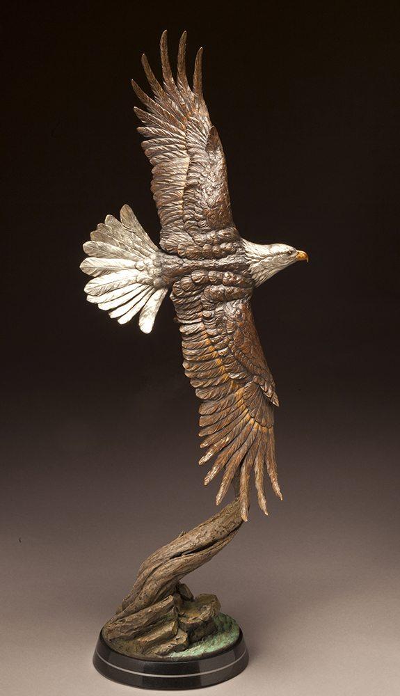 Soaring Majesty | Eugene Morelli | Sculpture-Exposures International Gallery of Fine Art - Sedona AZ