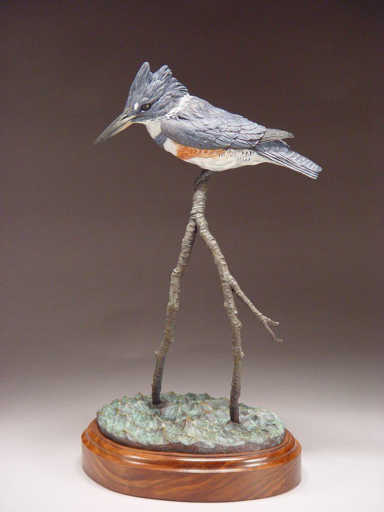 Streamside Angler | Eugene Morelli | Sculpture-Exposures International Gallery of Fine Art - Sedona AZ