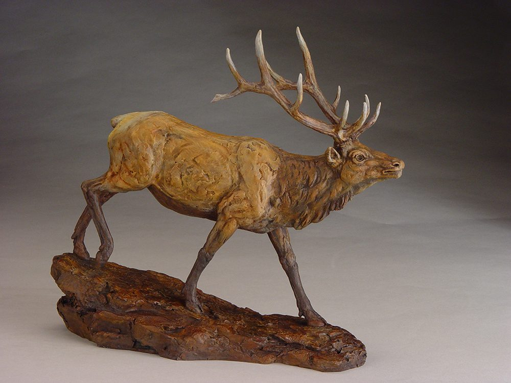 Trail Runner | Eugene Morelli | Sculpture-Exposures International Gallery of Fine Art - Sedona AZ
