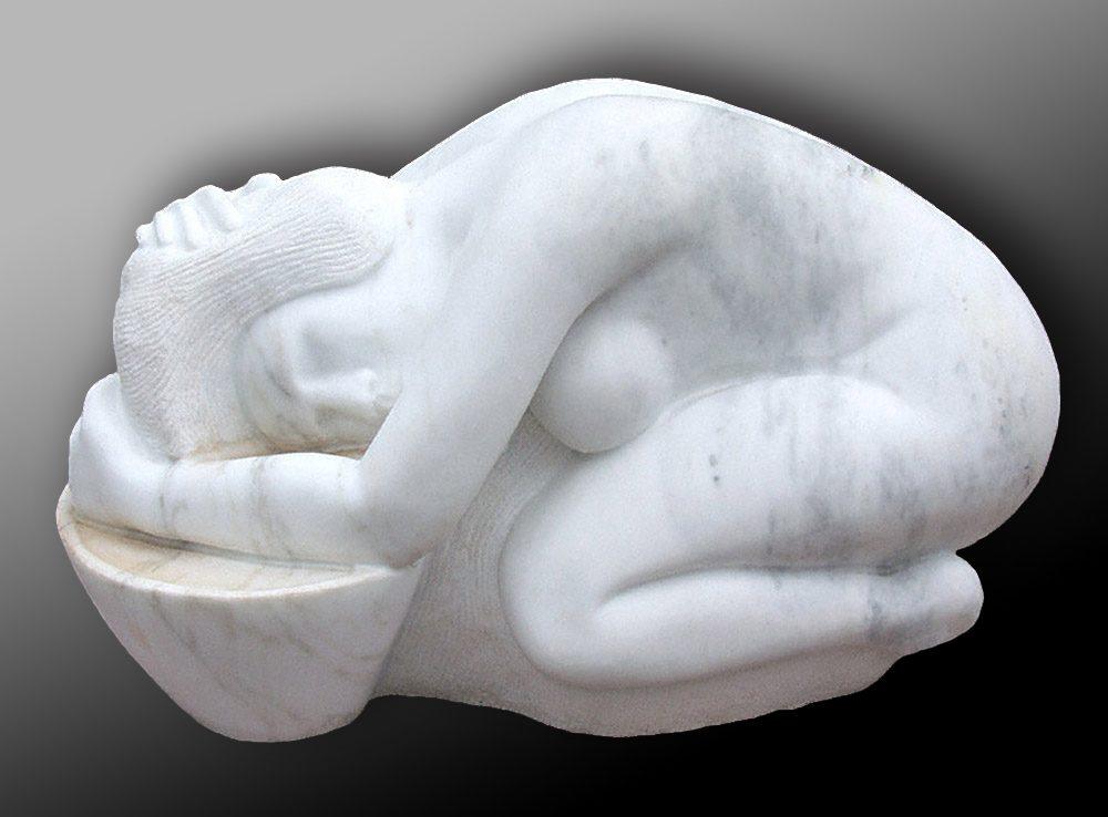 Maria   Daniel Newman   Sculpture-Exposures International Gallery of Fine Art - Sedona AZ