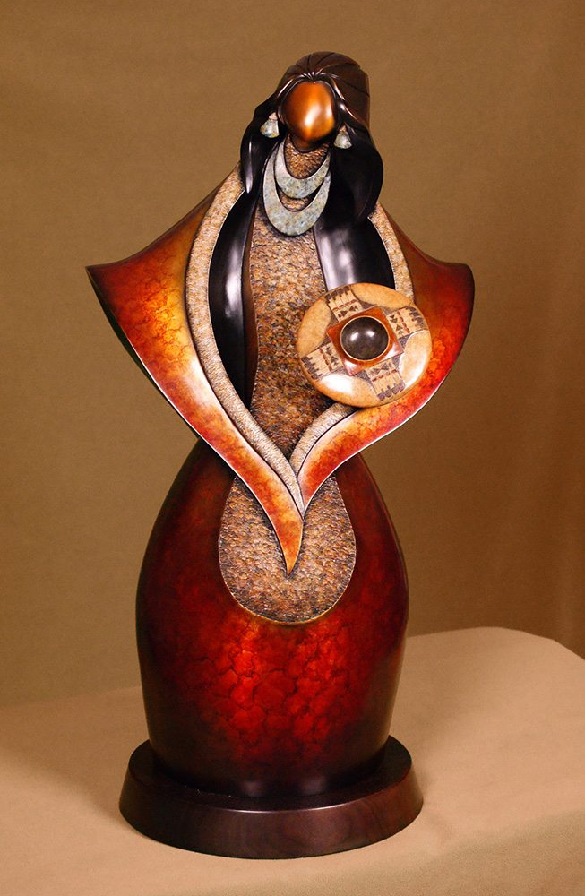 Eagle Wing | Kim Obrzut | Sculpture-Exposures International Gallery of Fine Art - Sedona AZ