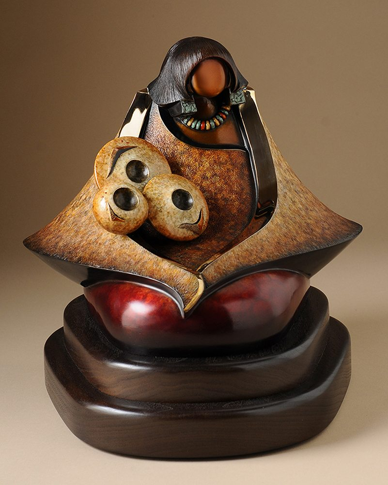 Market Day | Kim Obrzut | Sculpture-Exposures International Gallery of Fine Art - Sedona AZ