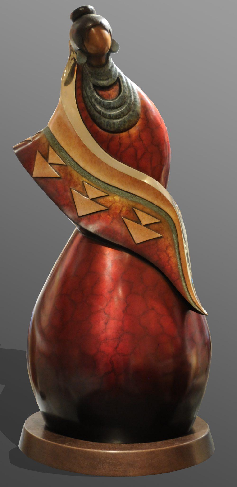 Matriarch | Kim Obrzut | Sculpture-Exposures International Gallery of Fine Art - Sedona AZ
