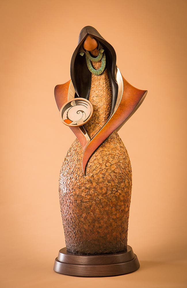 Messenger | Kim Obrzut | Sculpture-Exposures International Gallery of Fine Art - Sedona AZ