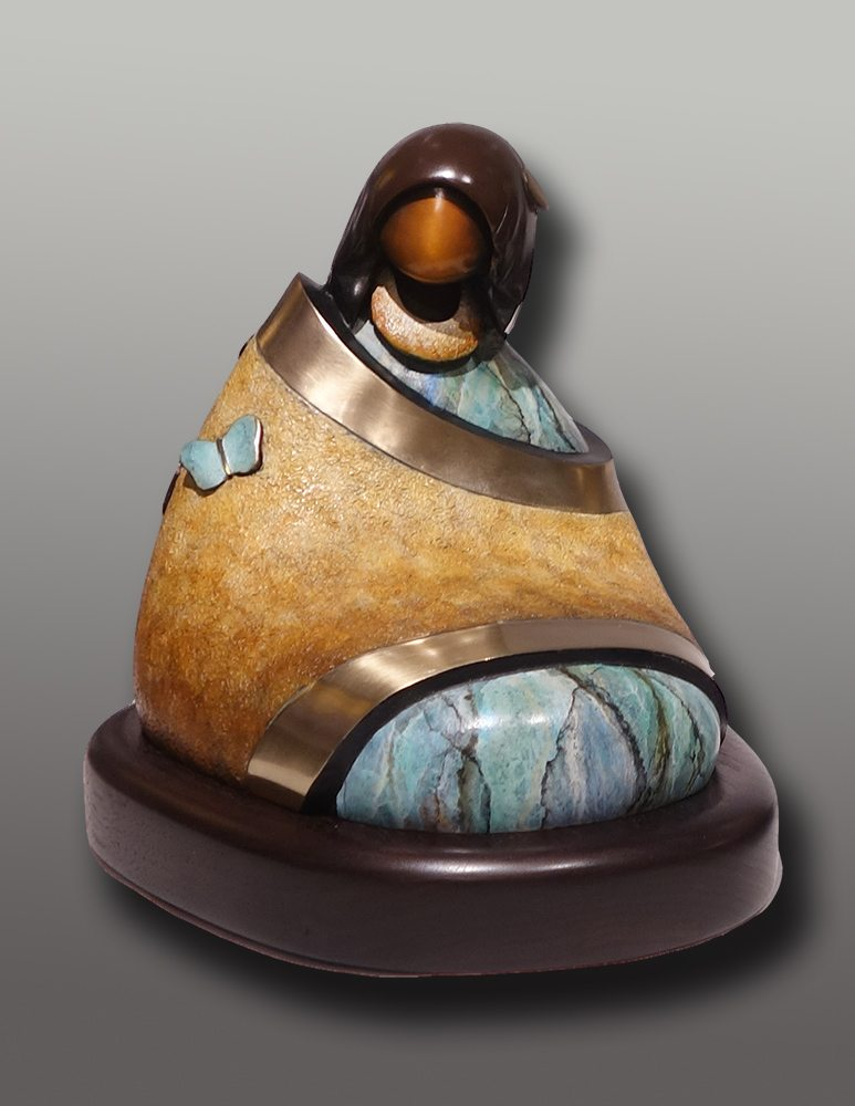 Spring Maiden | Kim Obrzut | Sculpture-Exposures International Gallery of Fine Art - Sedona AZ