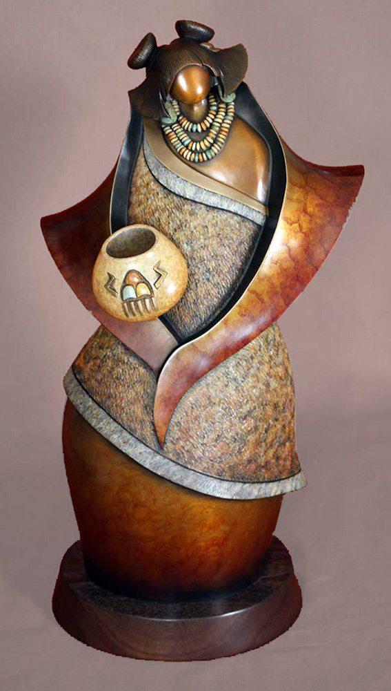 Summer's Song | Kim Obrzut | Sculpture-Exposures International Gallery of Fine Art - Sedona AZ