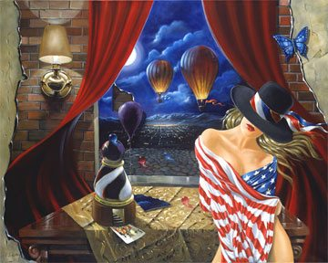 All Wrapped Up | Victor Ostrovsky | Painting-Exposures International Gallery of Fine Art - Sedona AZ