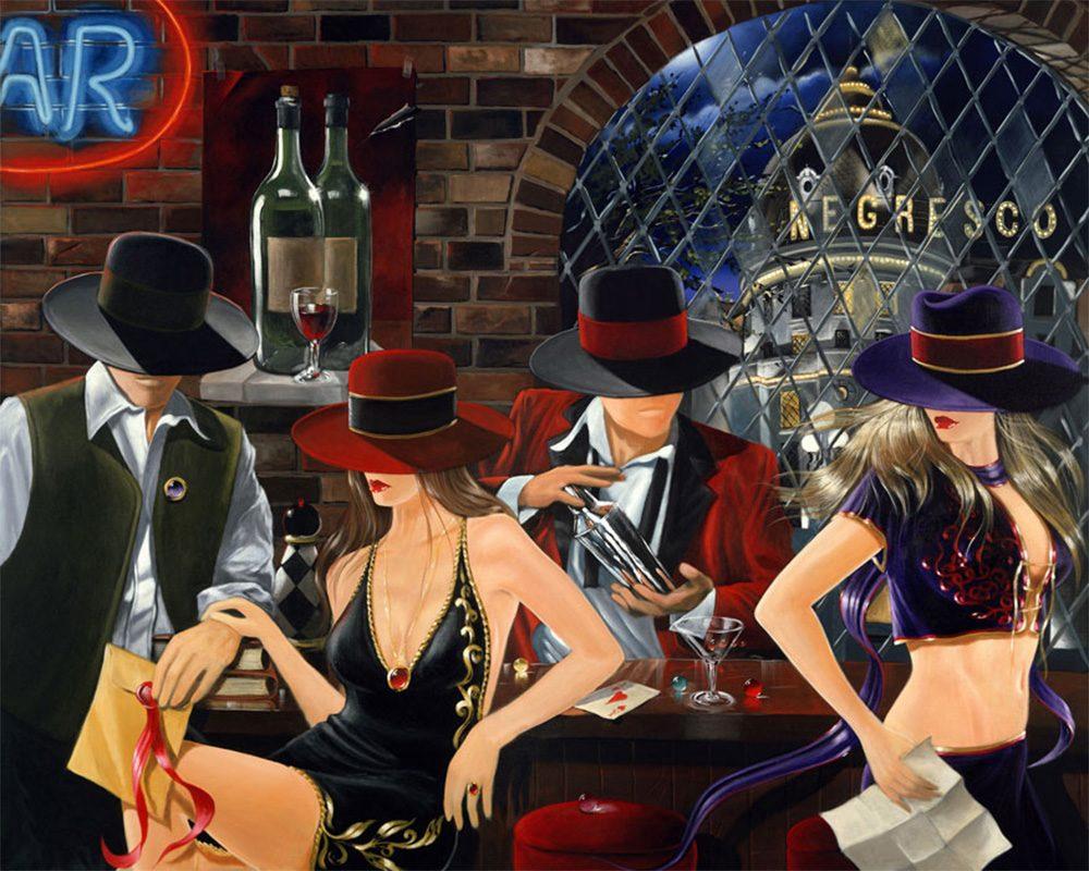 Encounters | Victor Ostrovsky | Painting-Exposures International Gallery of Fine Art - Sedona AZ
