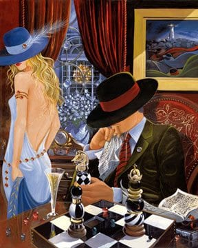 Game Plan | Victor Ostrovsky | Painting-Exposures International Gallery of Fine Art - Sedona AZ