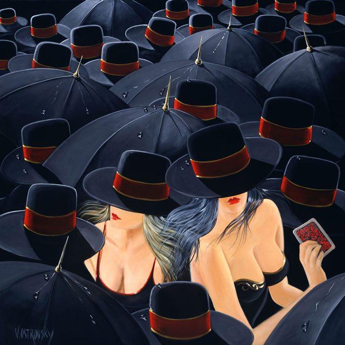 Parallels | Victor Ostrovsky | Painting-Exposures International Gallery of Fine Art - Sedona AZ