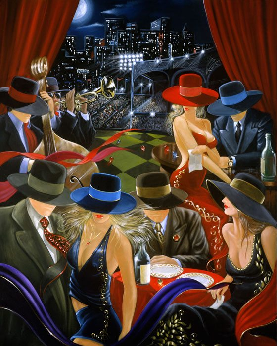 Playing Field Victor Ostrovsky Exposures International