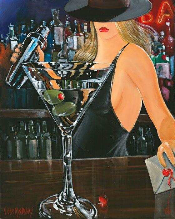 Shaken Not Stirred | Victor Ostrovsky | Painting-Exposures International Gallery of Fine Art - Sedona AZ